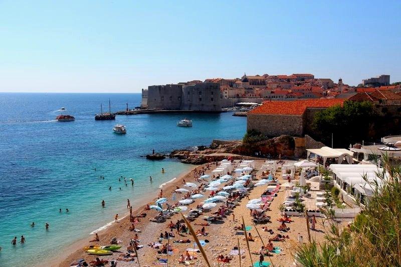 Dubrovnik Beaches Banje Beach