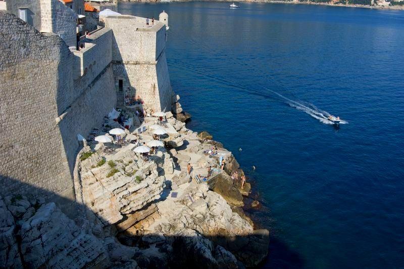 Dubrovnik Beaches Buža Beach