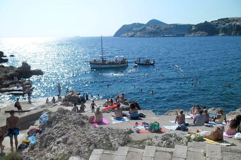 Dubrovnik Beaches Danče Beach