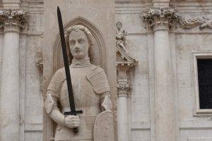 Dubrovnik Orlando Column