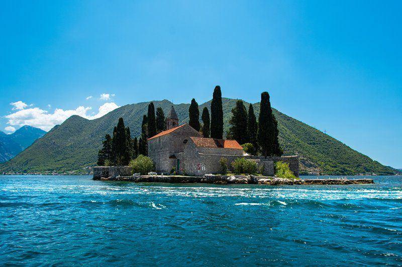 Dubrovnik to Montenegro   St George Island