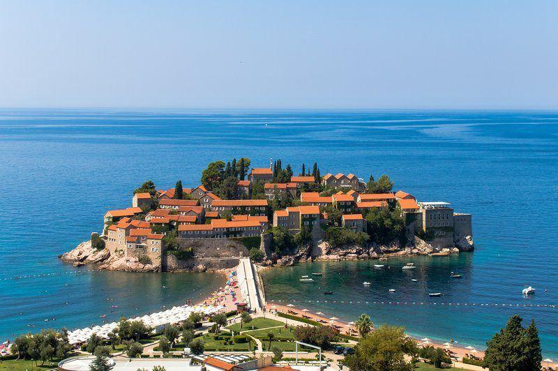 Dubrovnik to Montenegro   Sveti Stefan