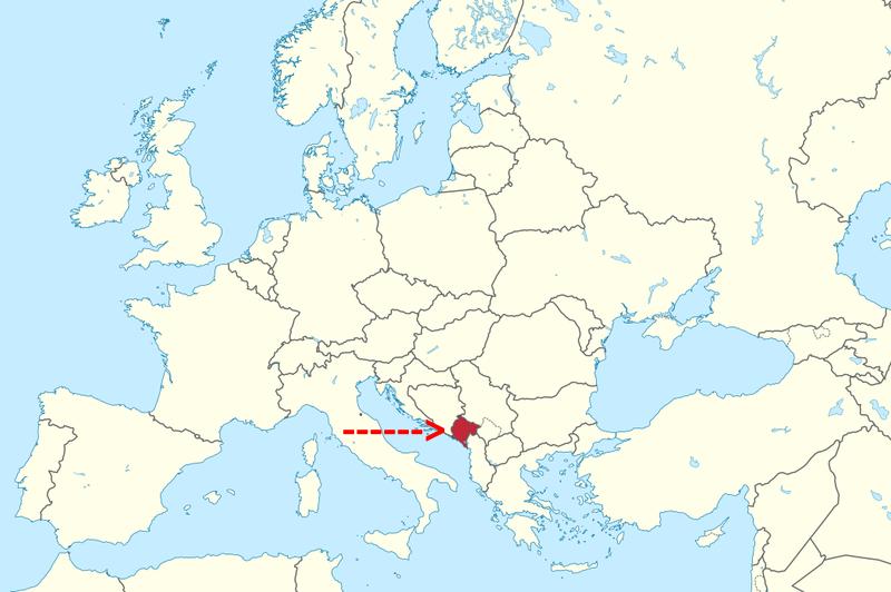 Dubrovnik to Montenegro | Where is Montenegro
