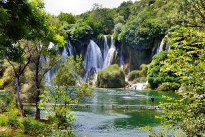 Dubrovnik to Mostar day trip Kravice Waterfalls