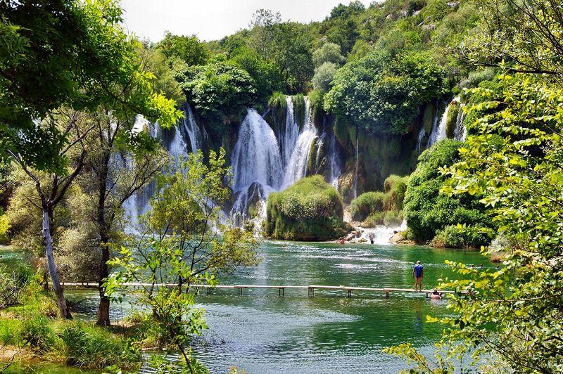 Dubrovnik to Mostar day trip Kravice Waterfalls