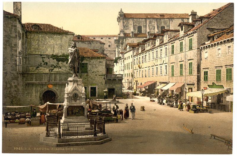 Gundulic Square Dubrovnik