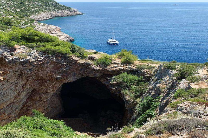 Mljet National Park   Odysseus Cave