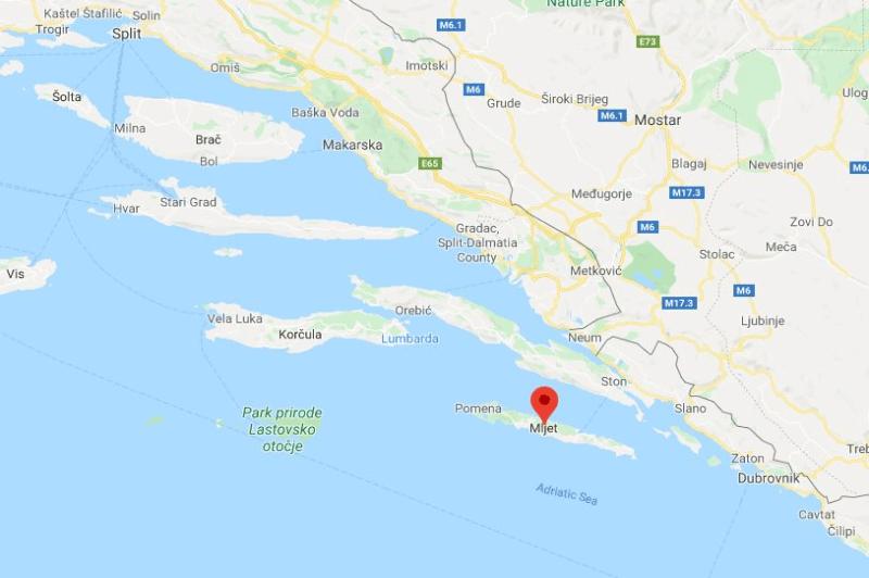 Where Is Mljet Island